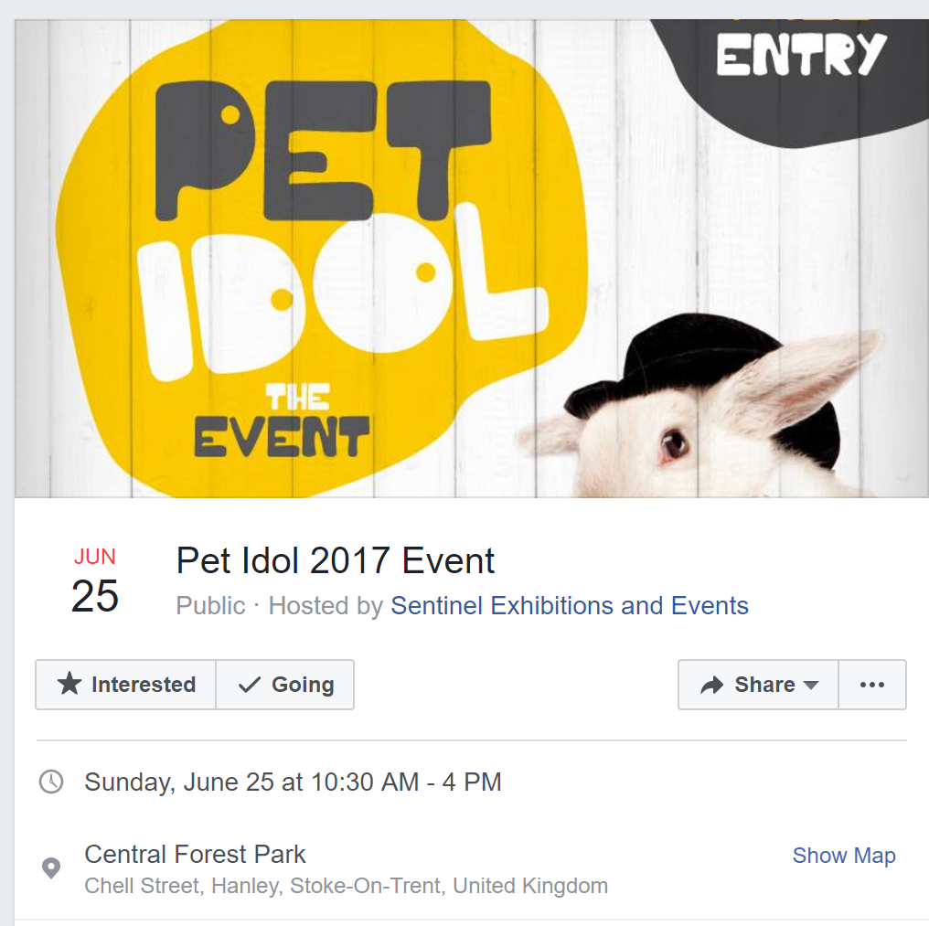 Pet Idol the Event 2017